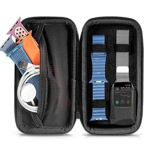 Portable Travel Organizer Box  Compatible With Apple Watch - Elegance & Splendour