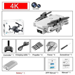 Mini RC Foldable Drone With 4K UHD Camera - Elegance & Splendour