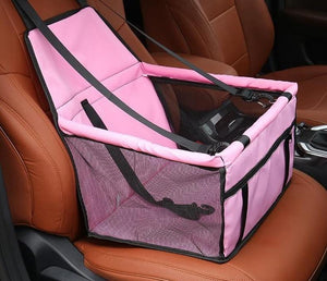 Car Seat Cover Folding Hammock -Pet Carriers For Cats & Dogs - Elegance & Splendour