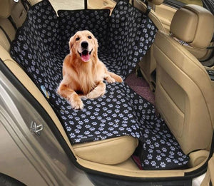 Rear Row Two-Seat Dog Pad - Hammock With Safety Belt - Elegance & Splendour
