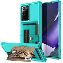 Load image into Gallery viewer, Wallet Flip Armor Case For Samsung Galaxy Note 20 5G & Note 20 Ultra - Elegance & Splendour