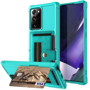 Wallet Flip Armor Case For Samsung Galaxy Note 20 Ultra/Note 20 5G - Elegance & Splendour