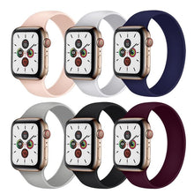 Load image into Gallery viewer, Solo Loop Strap Compatible With Apple Watch - Elegance & Splendour