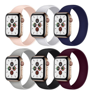 Solo Loop Strap Compatible With Apple Watch - Elegance & Splendour