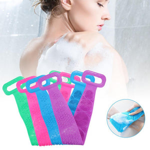 Magic Silicone Rubbing Back Brush Band/Bath Exfoliating Scrubber - Elegance & Splendour