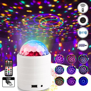 LED Crystal Ball Projector For DJ Stage Party - Elegance & Splendour