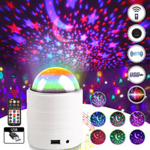 Load image into Gallery viewer, LED Disco Crystal Ball Projector - Elegance & Splendour
