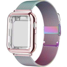 Load image into Gallery viewer, New Milanese Loop Band + Case Compatible With Apple Watch - Elegance & Splendour