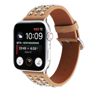 Sports Loop Correa Rivet Band Compatible With Apple Watch - Elegance & Splendour