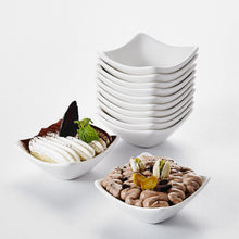 "Load image into Gallery viewer, 12-Pieces 3"" Porcelain Ceramic Dessert Cream Dipping Bowl - Elegance & Splendour"