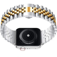 Load image into Gallery viewer, Luxury Stainless Steel Link Bracelet Compatible With Apple Watch - Elegance & Splendour