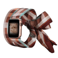 Load image into Gallery viewer, Fashion Scarf Strap Compatible With Apple Watch - Elegance & Splendour