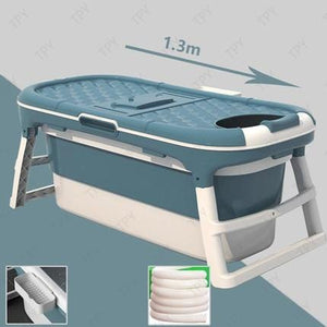Adult Folding Thickened Bathtub/Swimming Barrel With Massage Foot - Elegance & Splendour