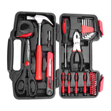 Load image into Gallery viewer, 39 Pcs DIY Household Home Hand Tool Kit - Elegance & Splendour