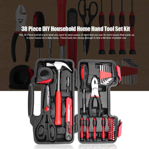 39 Pcs DIY Household Home Hand Tool Kit - Elegance & Splendour
