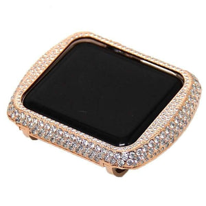 Full Loaded Handcraft Encrusted Bling Rhinestone Bezel Case For Apple Watch - Elegance & Splendour