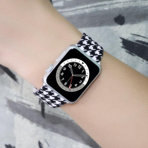 Painted Pattern Sport Silicone Strap Compatible With Apple Watch - Elegance & Splendour