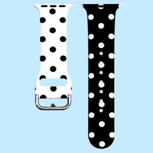 Load image into Gallery viewer, Painted Pattern Sport Silicone Strap Compatible With Apple Watch - Elegance & Splendour