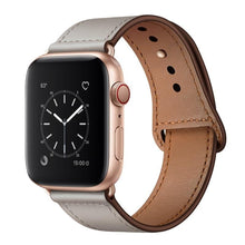 Load image into Gallery viewer, Premium Leather Band Compatible With Apple Watch - Elegance & Splendour