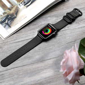 Sports Nylon Band Compatible With Apple Watch - Elegance & Splendour