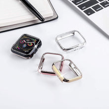 Load image into Gallery viewer, Quasar Protective Diamond Case Compatible With Apple Watch