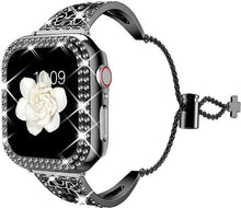 Load image into Gallery viewer, Women Diamond Band For Apple Watch - Elegance & Splendour