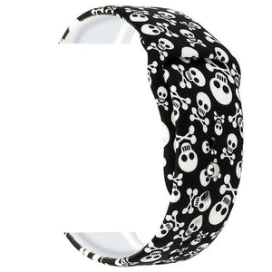 Printed Silicone Band for Apple Watch - Elegance & Splendour