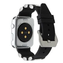 Load image into Gallery viewer, Tang Buckle Silicone Rubber Watchband For Apple Watch - Elegance & Splendour