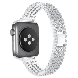 Crystal Premium Bling Diamond Band Compatible With Apple Watch - Elegance & Splendour