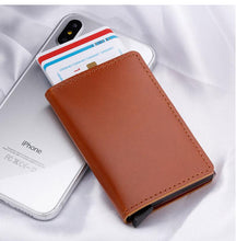 Load image into Gallery viewer, Premium Leather Credit Card Holder with RFID Blocking - Elegance & Splendour