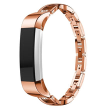 Load image into Gallery viewer, High Quality Replacement Alloy Crystal Rhinestone Wristband Band Strap Bracelet For Fitbit Alta/For Fitbit Alta HR Watch Band - Elegance & Splendour