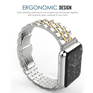Corporate Series Band Compatible With Apple Watch - Elegance & Splendour