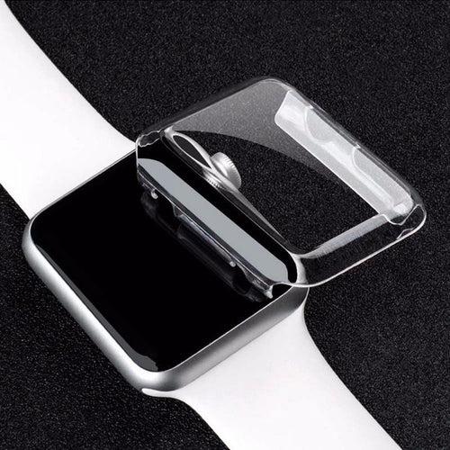 Transparent Clear PC Protective Cover Compatible With Apple Watch - Elegance & Splendour