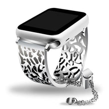 Load image into Gallery viewer, Women's Strap Jewelry Bracelet For Apple Watch - All Sizes & Series -Shipping Free - Elegance & Splendour