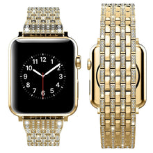 Load image into Gallery viewer, Indulgence Series Pure Luxury Diamond Bands For Apple Watch - Removed - Elegance & Splendour