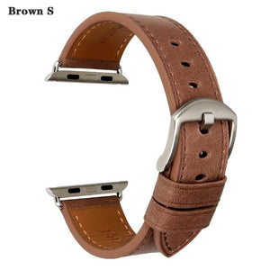 Quality Leather Watch Strap Replacement For Apple Watch