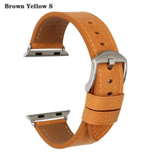 Load image into Gallery viewer, Quality Leather Watch Strap Replacement For Apple Watch - Elegance & Splendour