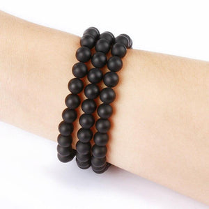 Retro Beaded Wristband - Natural Agate Band For Apple Watch - Elegance & Splendour