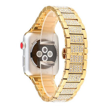 Load image into Gallery viewer, Luxury Diamond Watch Bracelet Band for Apple Watch - Elegance & Splendour
