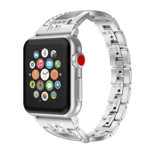 High Quality Luxury Diamond Strap Compatible With Apple Watch - Elegance & Splendour
