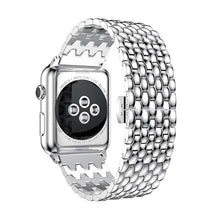 Load image into Gallery viewer, Business Formal Style Metal Watch Strap For Apple Watch - For Office Use - Elegance & Splendour