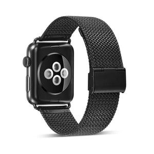 Stainless Steel Metal Belt Replacement Band Compatible With Apple Watch - Elegance & Splendour