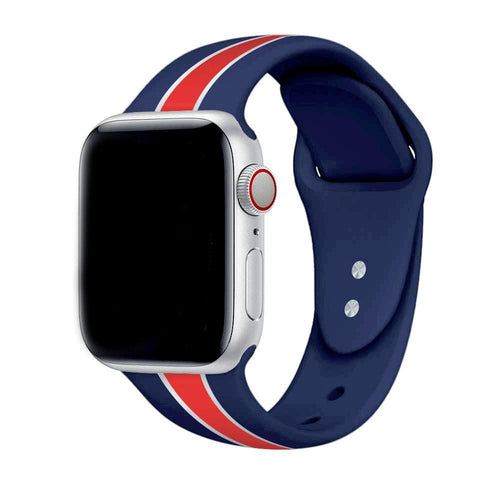 New Sporty Soft Silicone Strap For Apple Watch Series 4/3/2/1