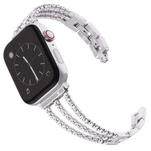 Load image into Gallery viewer, High-End Women Diamond Band Compatible With Apple Watch - Elegance & Splendour