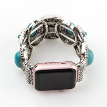 Load image into Gallery viewer, Women Turquoise Bangle Band for Apple Watch