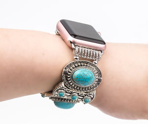 Women Turquoise Bangle Band for Apple Watch