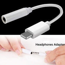 Load image into Gallery viewer, 3.5mm Jack AUX Headphone Adapter Cable For iPhone 8 7 X XS MAX XR - Elegance & Splendour