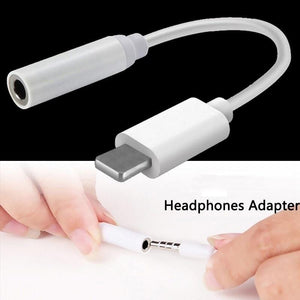 3.5mm Jack AUX Headphone Adapter Cable For iPhone 8 7 X XS MAX XR - Elegance & Splendour