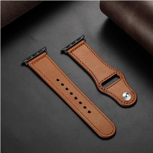 Leather Loop Strap For Apple Watch - Elegance & Splendour