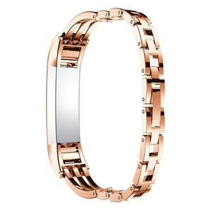 Fitbit Stainless Steel Jewelry Bangle Adjustable Bracelet Watch Band - Elegance & Splendour